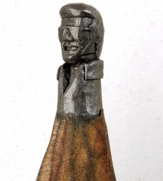 pencil sculptures 04 - Awesome Pencil Sculptures