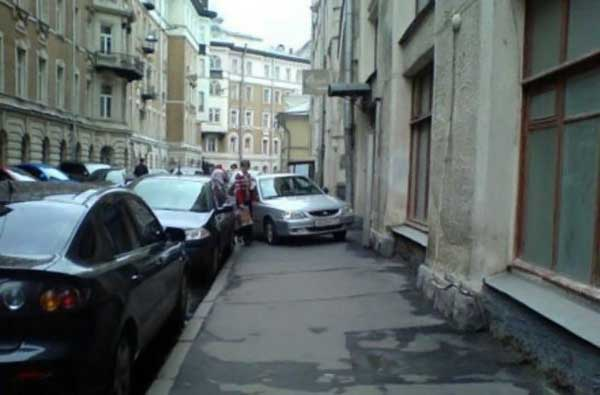 bad car parking