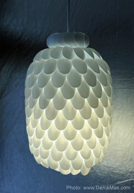 My Funny: How to Make a Designer Lamp for $ 2 (excluding bulbs ...
