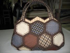 Japansk hexagonväska