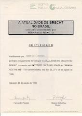 Certificado Göeth