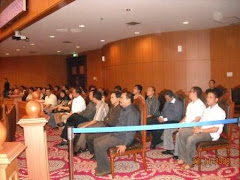 Pengunjung Sidang Sengketa PILKADA Bengkulu Selatan
