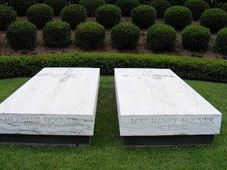 Gravesite of Herbert and Lou Hoover