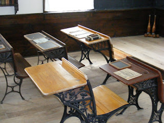 Hoover school house chairs