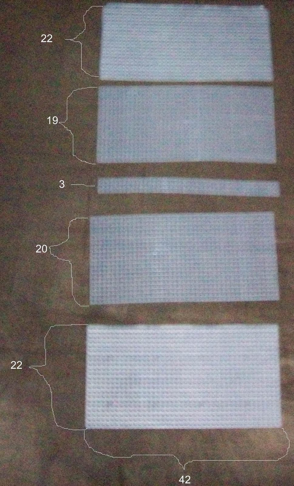 Checkbook Cover Pattern ~ Knit one swear weekend project plastic canvas