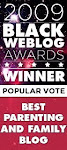 "MYBROWNBABY IS A WINNER FOR ""BEST PARENTING BLOG"" AND ""BEST BLOG DESIGN"""