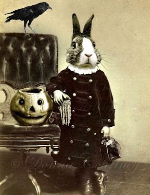 halloween, halloween costumes, art, bunny mask,