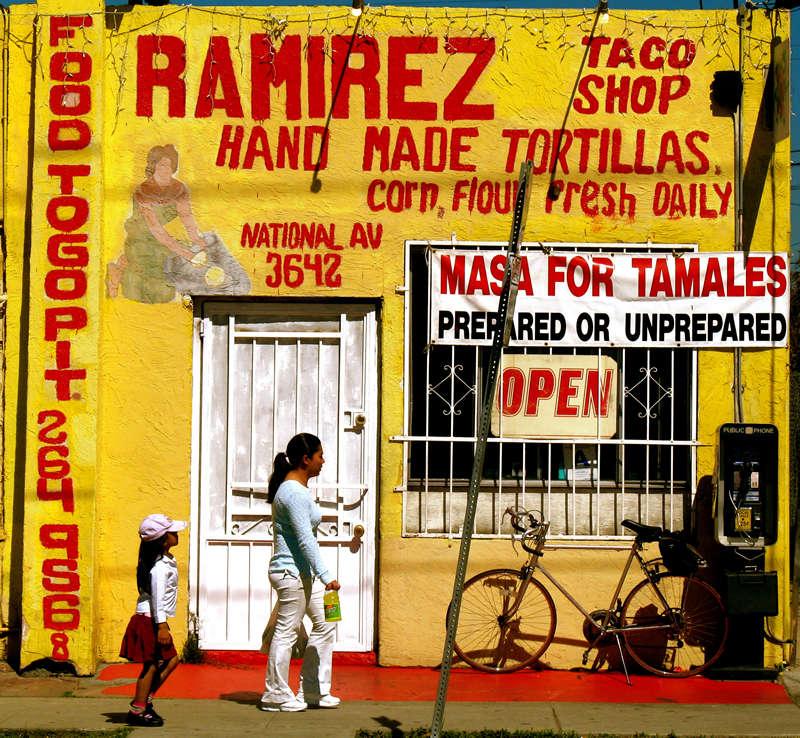 ramirez taco shop; click for previous post