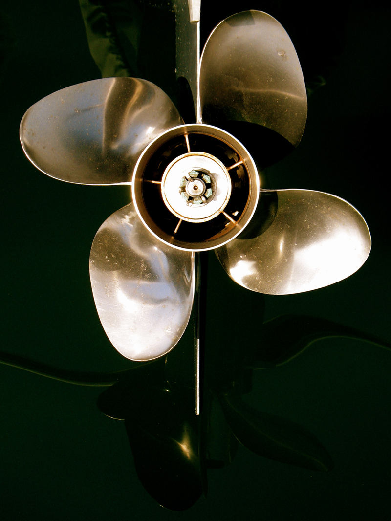 boat propellor; click for previous post