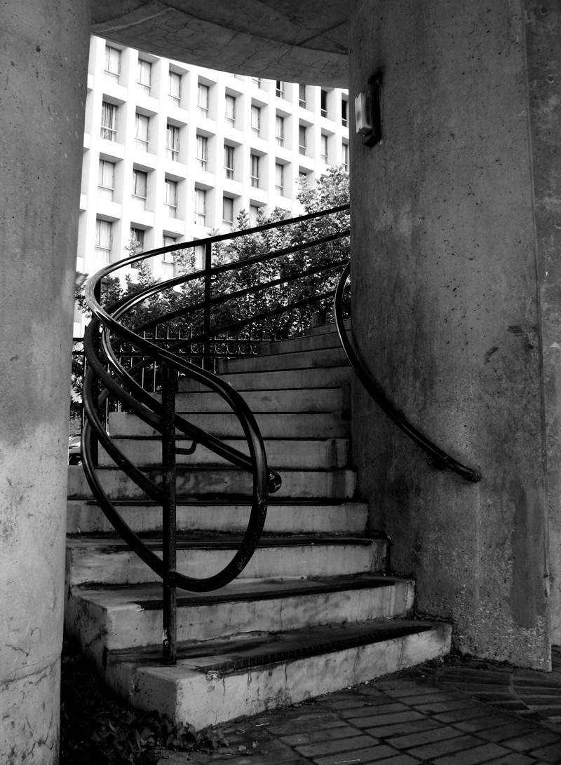 staircase; click for previous post