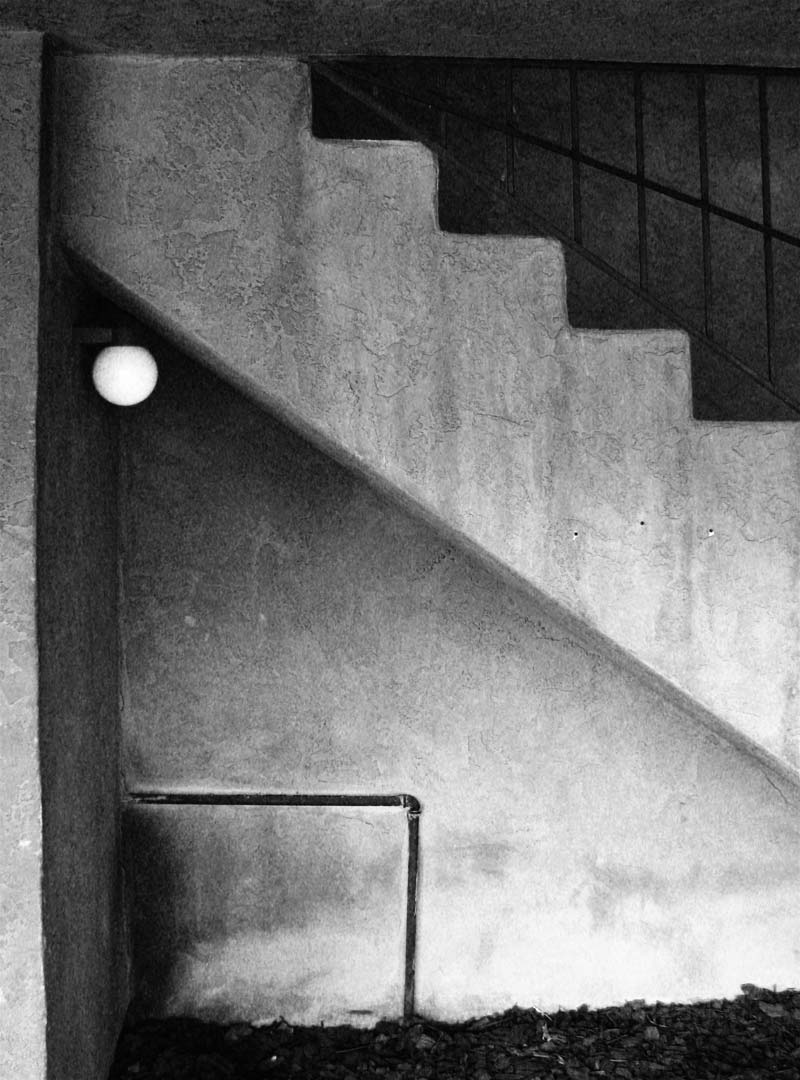 stairway and light fixture; click for previous post