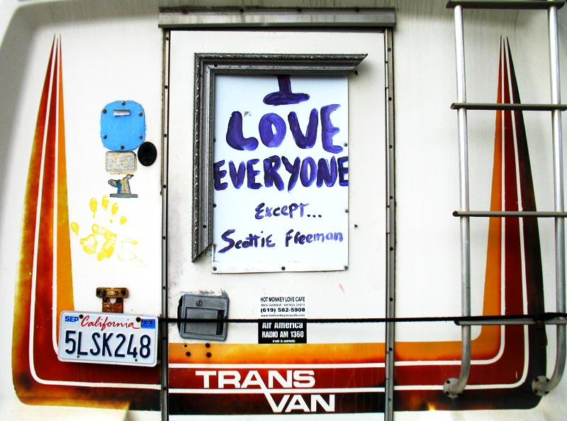 'I love everyone except ... Scottie Freeman'; click for previous post