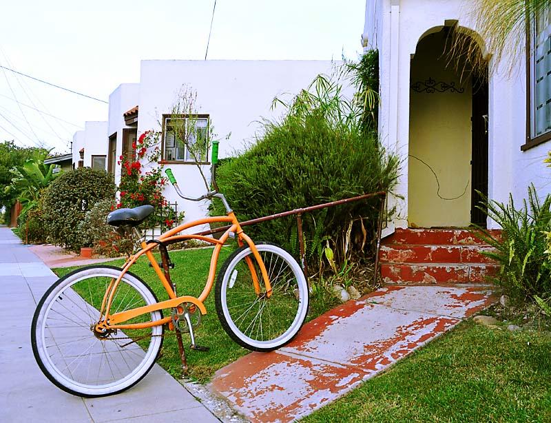 Orange bike; click for previous post