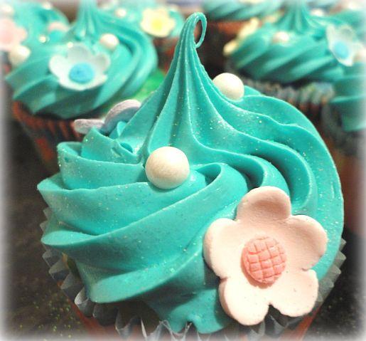 Little Mermaid Cupcake Rings