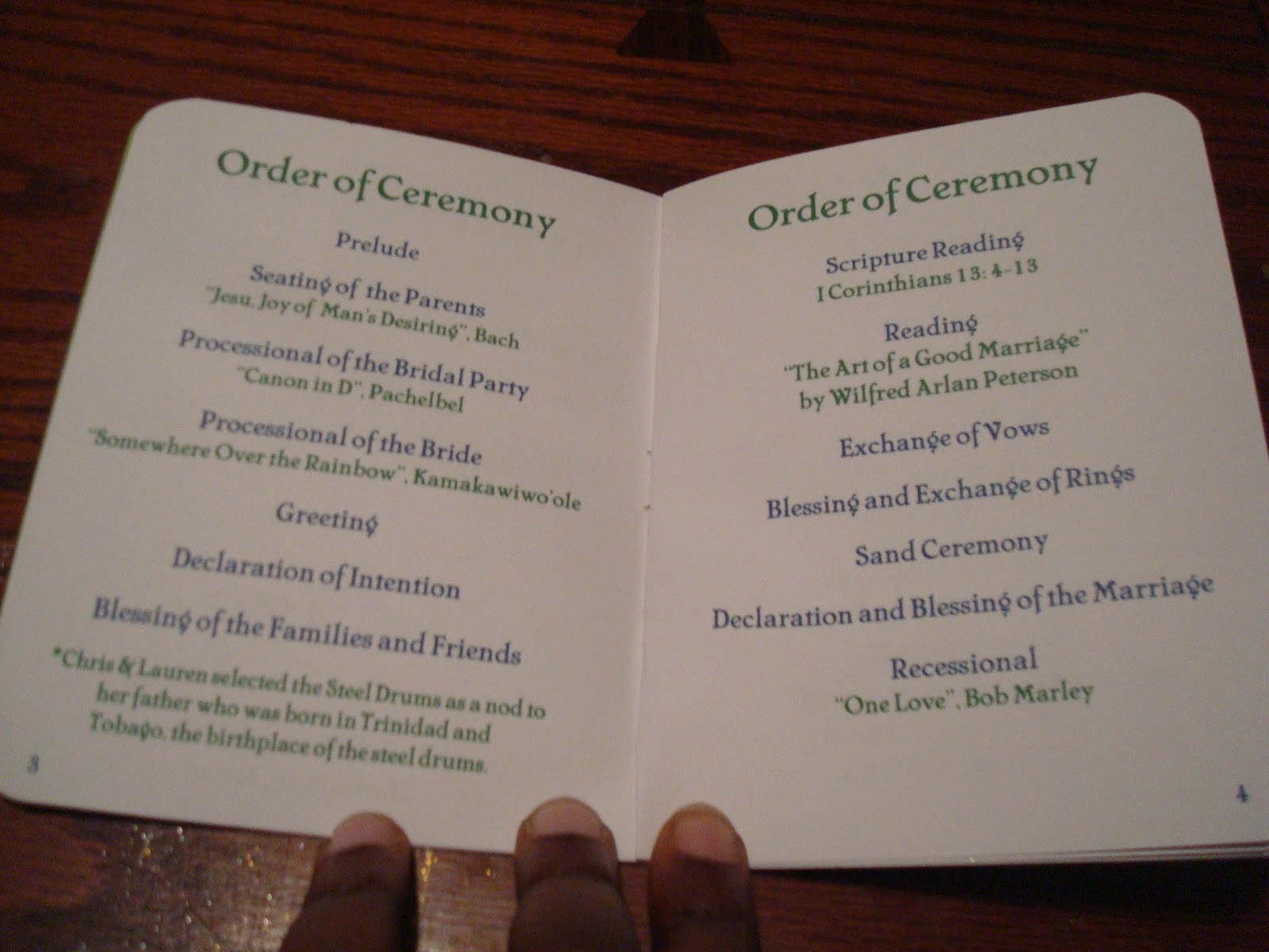 Wedding Reception Order Of Service Wedding Decor Ideas