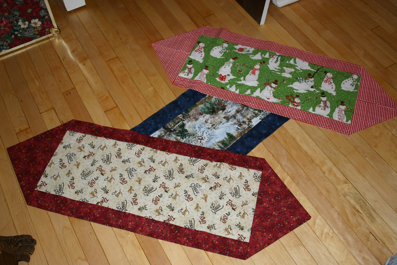 artistic attic 10 minute table runners