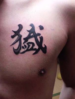 Kanji Tattoo Designs For Mens