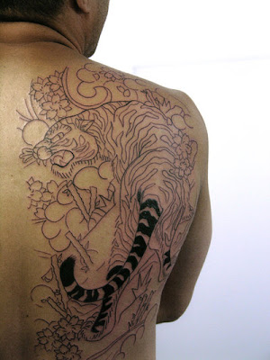 Tiger Tattoo Designs For Mens
