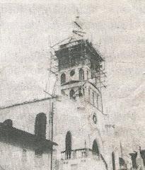 Contrucción de la Torre Parroquial