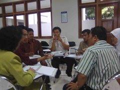 DISKUSI MAHASISWA PROGRAM SERTIFIKASI-MIPA UNY