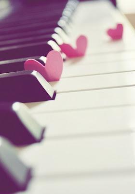 hearts piano