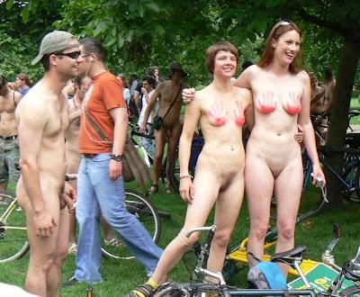 hot world naked bike ride