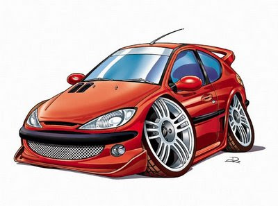 Caricatura de autos conosidos!!!!