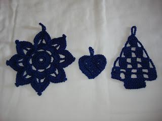 Mossita bella crochet y tejido adornos navide os a - Adornos navidenos crochet ...
