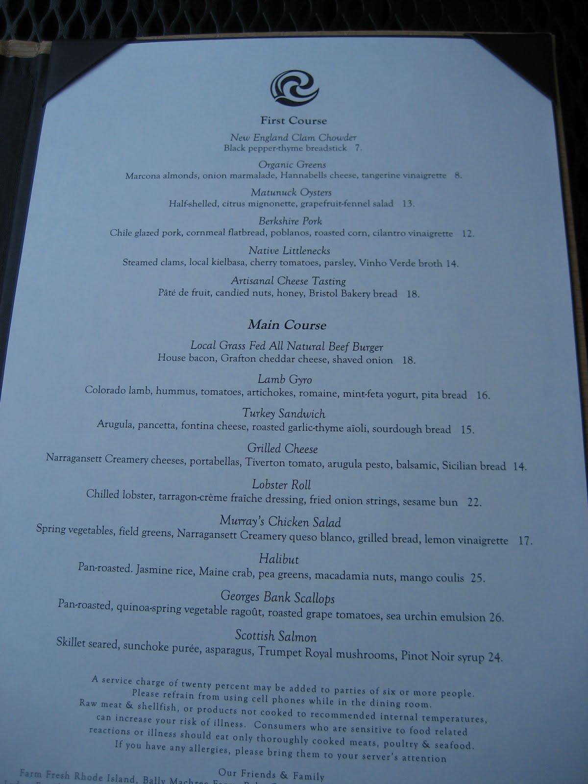 Mission: Food: Spotlight: Castle Hill Inn