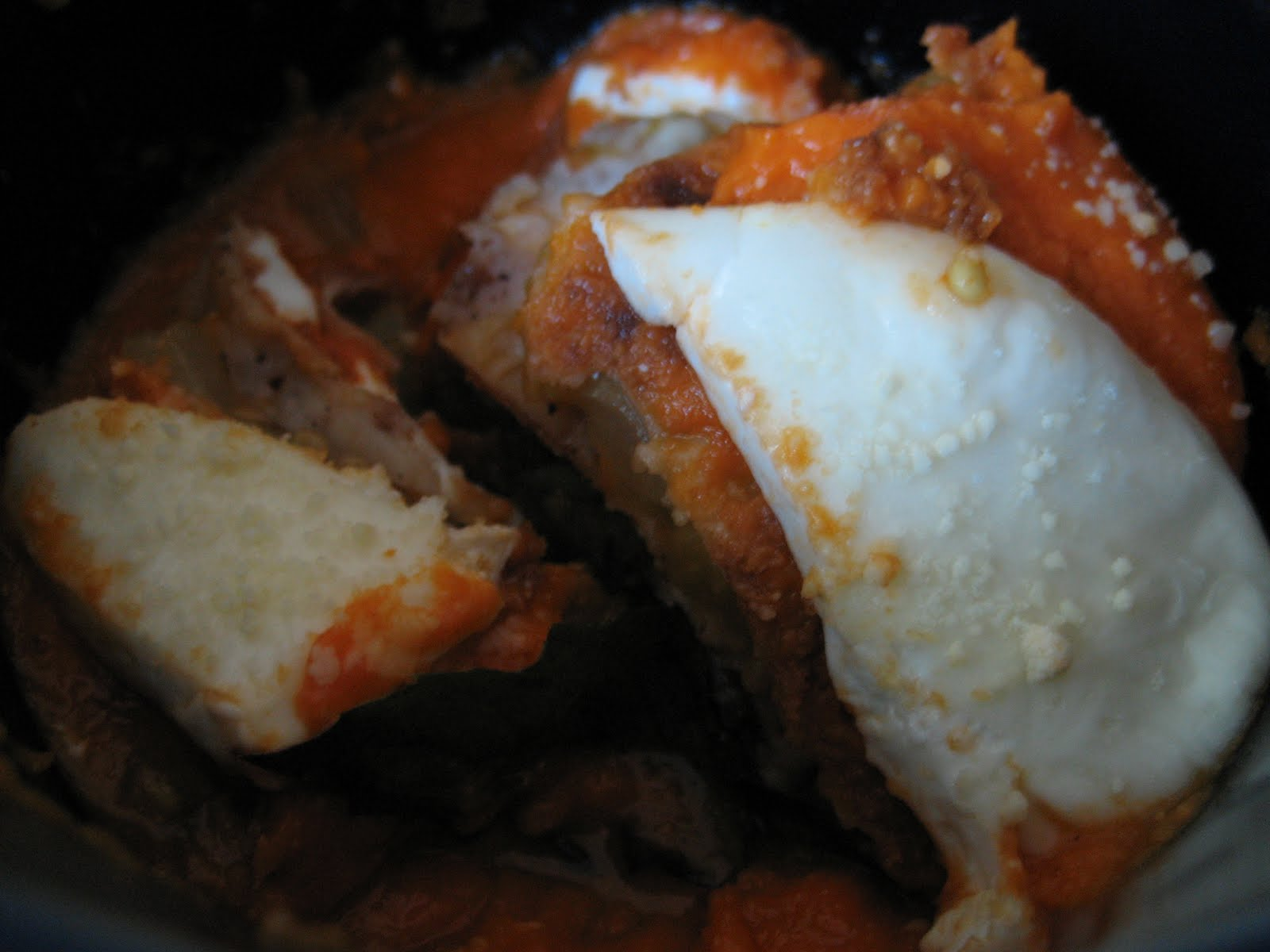Mission: Food: Fried Green Tomato Parmesan