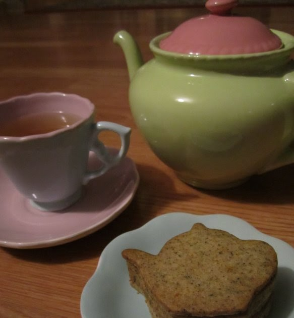 Mission: Food: Earl Grey Tea Cookies (aka The Cutest ...