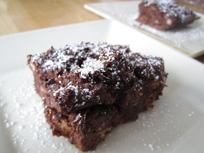 Mission: Food: Chocolate Bread Pudding