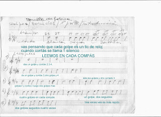 Como leer y escribir partitura de murga Parte 2