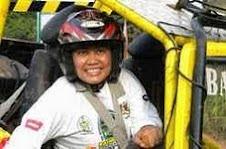 Lesbian Ratu Lilis Pasukan Offroader di Banten