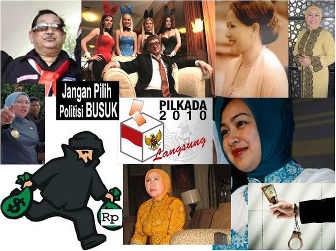 Rencana Merampok Lebih Banyak di Banten 2010, Airin Rachmi Diany