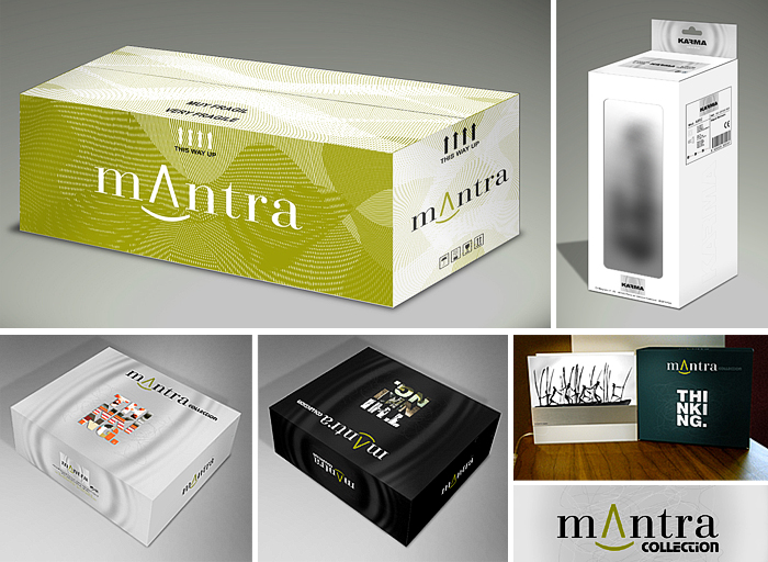 Mantra Product packaging design by Somerset Harris