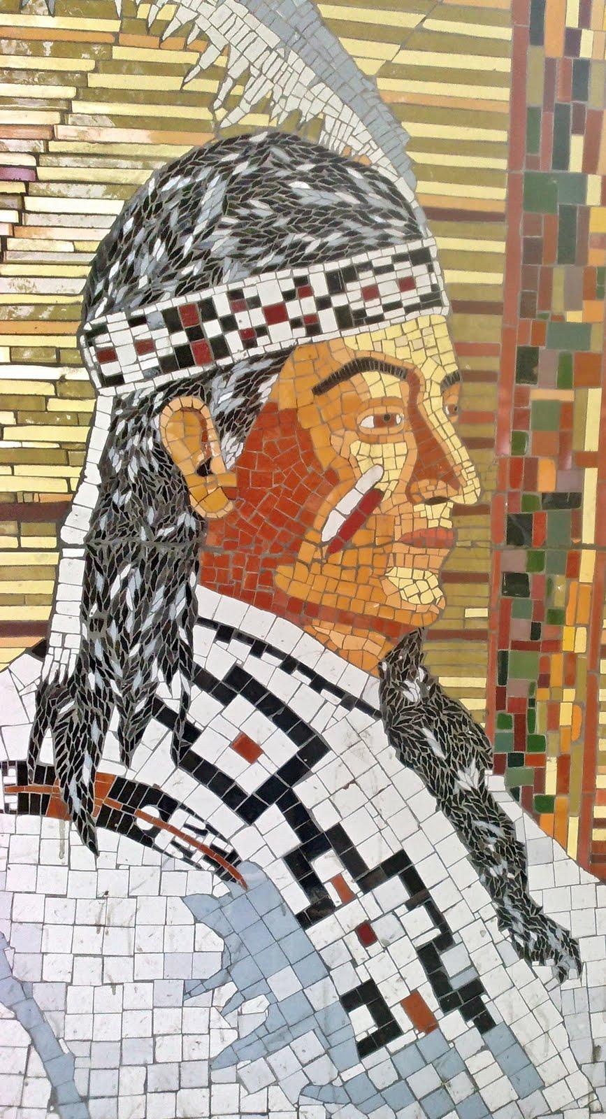 Kambiaespacios mosaico en cer mica - Espejos de ceramica ...