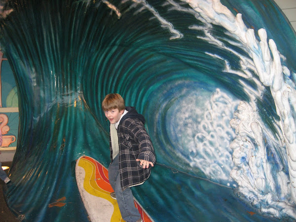 SURFIN' SAM!