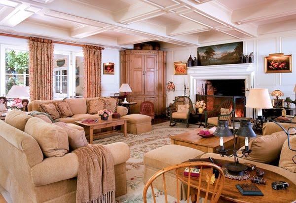 Inside Barbra Streisand Home