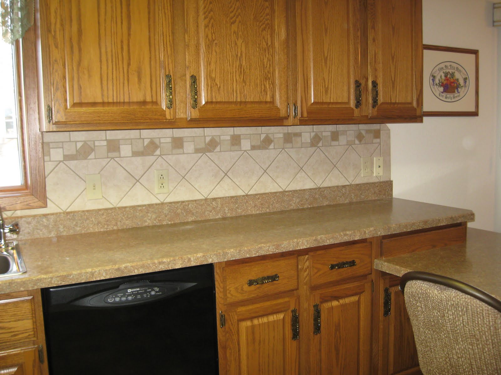 Big Kraut Construction High Definition Counter Top And Tile Back Splash