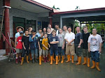 Isaac and team helping with Typhoon relief
