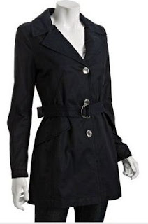 Giveaway:  Laundry by Shelli Segal Trenchcoat (Size M) [CLOSED]