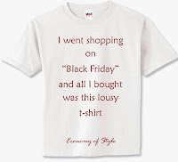 """Black Friday"" Shopping Recap"