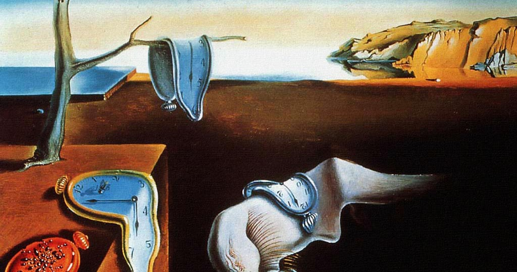 "an examination of salvador dalis persistence of memory ""the disintegration of persistence of memory"", 1952-1954 artist: salvador dali analysis: this painting can be considered as a companion piece to another wo."