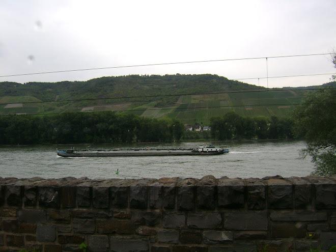 เรือบรรทุกสินค้า ในแม่น้ำไรด์