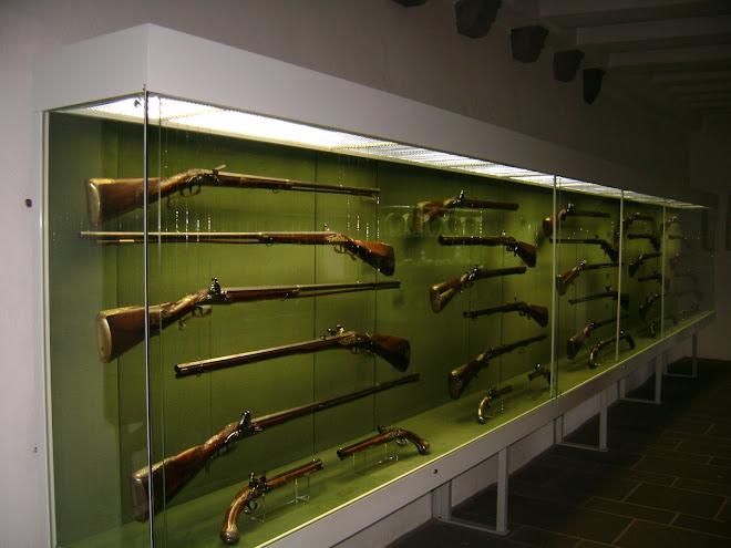 ปืนของกษัตรย์ ในวัง ของประเทศเยอรมัน