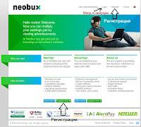 кликнете на regıster в neobux