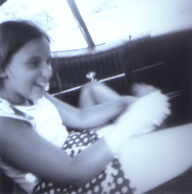 Donna Enroute to Plymouth Rock - 1970