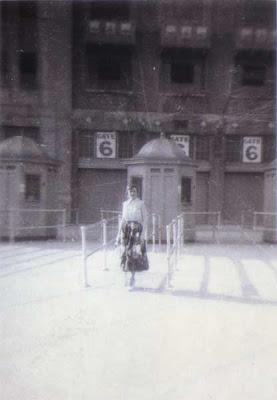 Doralice at Yankee Stadium - June 1950