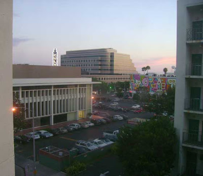 View From A Culver City Hospital